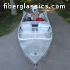 1959 Meyers Two Tones & Tail Fins Runabout Boat & 1959 Motor