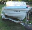 FREE Early 1960s DUO Brand Runabout Fiberglassic- no trailer