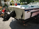 Water Ski Boat For Sale: 1969 Glasspar Flying V-175 - $2500