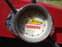 Aquabird Steering Wheel Center