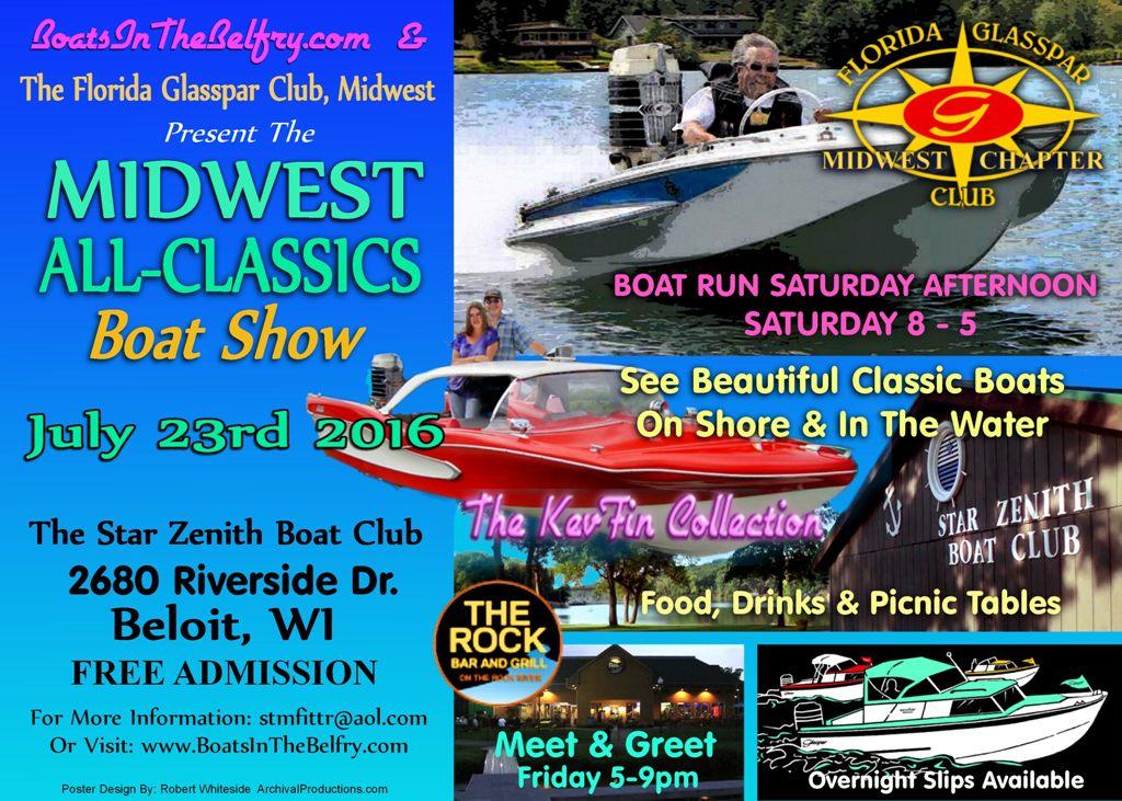 FiberGlassics® - Midwest All-Classics Boat Show at Beloit WI ...