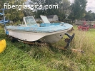Johnson Fiberglass boat