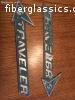 Traveler Aluminum Emblems